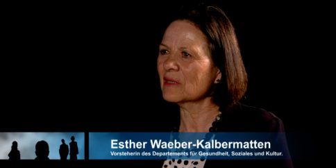 TALK Esther Waeber-Kalbermatten